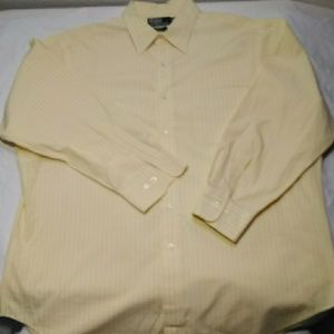 Vtg Polo Ralph Lauren Striped button down 17 32/33